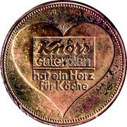 Jeton Knorr Caterplan – revers