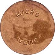 Jeton de lavage automobile - Micro Matic (27.0 mm) – avers