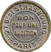 Bon pour une Audition - Palace Chansons - Paris [75] – revers