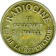 Bon pour une audition - RADIOCINE- FG - Paris [75] – avers