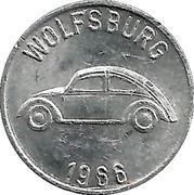 Jeton Volkswagen – revers