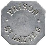 25 Centimes - Prison Saint-Lazare - Paris [75] – avers