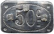 50 centimes - Prison Saint-Lazare - Paris [75] – revers