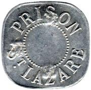 5 Francs - Prison Saint-Lazare - Paris [75] – avers