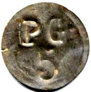 5 Centimes - PG (Prisonniers de Guerre) - Chateauroux [36] – revers