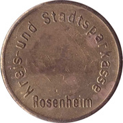 Safe deposit token - Ostertag (Rosenheim) – avers