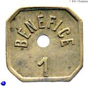 1 Bénéfice - L'indépendante - Lille [59] – revers