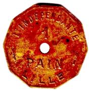 1 pain - L'Indépendante - Lille [59] – revers