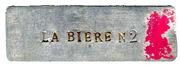 Jeton N 2 - La Bière - Paris [75] – revers