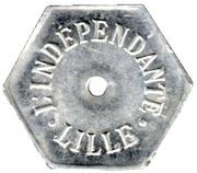 Echange L'indépendante - Lille [59] – avers
