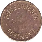 Safe deposit token - Pohlschröder (Neuweirer ) – revers