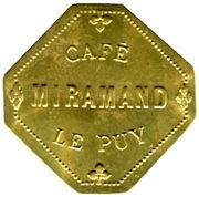 25 Centimes - Café Miramand - Le Puy [43] – avers