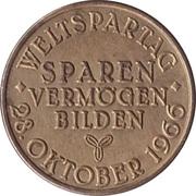 Token - World Savings Day Hannover – revers