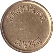 Safe deposit token - Stadtsparkasse Duisburg – avers