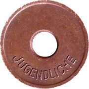 Public swimming pool token - Bornheim (youth) – revers