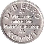 Token - Der Euro Kommt – avers