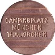 Token - Campingplatz Thalkirchen – avers