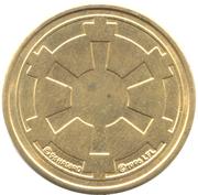 Imperial Credit Token - Monopoly Star Wars – revers