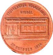 Token - Stuttgarter Volksbank – revers