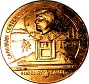 "Sudbury ""Numismatic Park"" Promotional Medallion - Kennedy Half Dollar Memorial – avers"