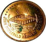 "Sudbury ""Numismatic Park"" Promotional Medallion - Kennedy Half Dollar Memorial – revers"