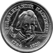 Token - Sir Alexander Mackenzie – avers