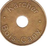 """jeton - """"Kärcher Bois-Cany"""" – avers"""
