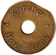 """jeton - """"Kärcher Bois-Cany"""" – revers"""