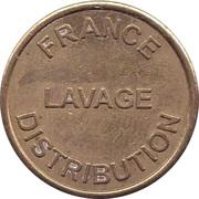 Car Wash Token - Lavage France Distribution – avers