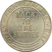 Amusement Token - Back to the sixties – avers