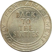 Amusement Token - Back to the sixties – revers