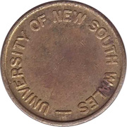 Token - Photo Copy (University of New South Wales) – revers
