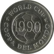 World Cup - Coppa Del Mondo - 1990 - Egypte -  revers
