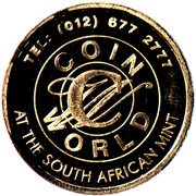 South African Mint Festival 2008 – revers