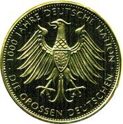 Token - 1000 Jahre Deutche Nation (Ferdinand Graf von Zeppelin) – revers