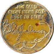 Médaille Wilhelm I (Mort de l'empereur) – revers