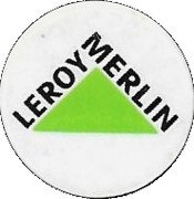 Jeton de chariot LEROY MERLIN – avers