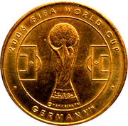 Soccer World Cup 2006 Medals - Australia – revers
