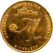 Soccer World Cup 2006 Medals - Australia – avers