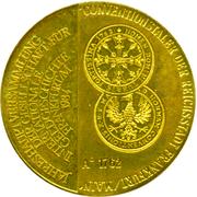 Token - Frankfurt Numismatic Convention (Frankfurt Convention Taler) – avers