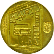 Token - Frankfurt Numismatic Convention (Frankfurt Convention Taler) – revers