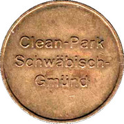 Jeton de lavage automobile - Kärcher Clean Park (Schwäbisch Gmünd) – avers
