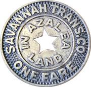 1 Fare (Savannah Trans. Co.) – avers