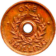 1 Shilling (Hay Internment Camp Token) – revers