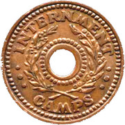 5 Shillings (Hay Internment Camp Token) – avers