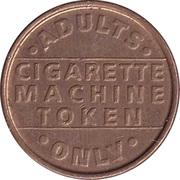 Vending Machine Token - Cigarette Machine Token – avers