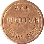 Jeton - Bundoran Pleasure Parks H&W – avers