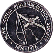 Nova Scotia Pharmaceutical Society - Centennial Medallion – revers