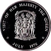 Nova Scotia - Royal Visit Medallion – revers