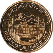 Trail, British Columbia - Diamond Jubilee Medallion – avers